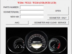 AMG INSTRUMENT CLUSTER CONVERSION