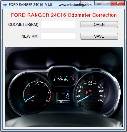 Odometer Correction Software